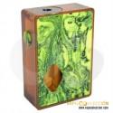 PURGE MODS ULTEM & RESIN GREEN SQUONKER BOX MOD