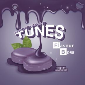 BLACKCURRANT TUNES BOSS SHOT 250ML