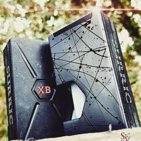 XURRIC XB SPLASHLINE SQUONK MOD GREY HOT PINK | XURRIC