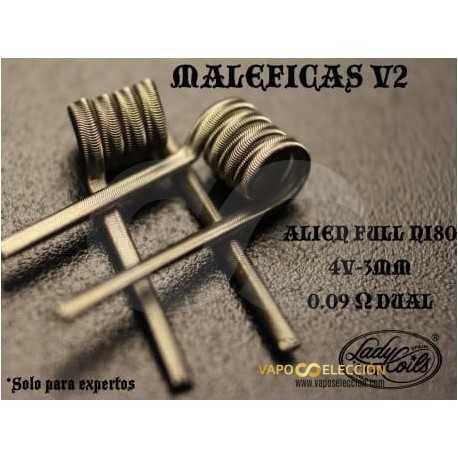 LADY COILS MALEFICAS V2 ALIEN FULL NI80 0,09/0,18