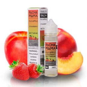 LIQUIDO FUJI APPLE STRAWBERRY NECTARINE 50ML | CHARLIES DUST