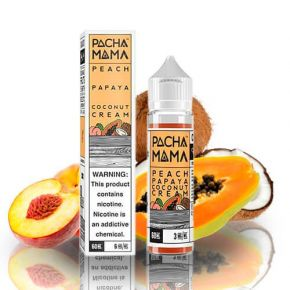 ELIQUID PACHAMAMA PEACH PAPAYA COCO 50ML |CHARLIES DUST
