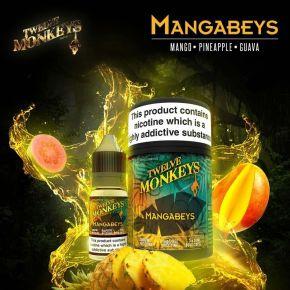 TWELVE MONKEYS MANGABEYS ELIQUID 3X10 ML