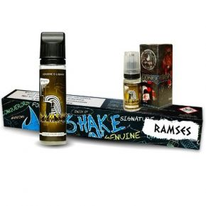 DROPS RAMSES ELIQUID 50 ML + BOOST 18MG SHAKE & VAPE