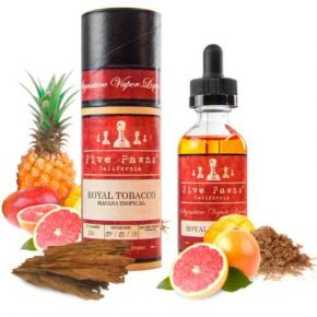FIVE PAWNS ROYAL TOBACO ELIQUID 50 ML SHAKE & VAPE