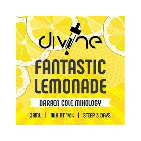 CHEFS FLAVOURS DIVINE FANTASTIC LEMONADE 30 ML