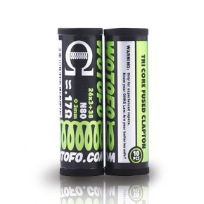 COILS TRI CORE FUSED CLAPTOON 10 PCS | WOTOFO