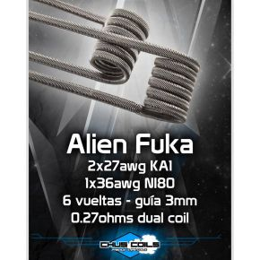 COILS ALIEN FUKA 0.27OHM | CHUS COILS