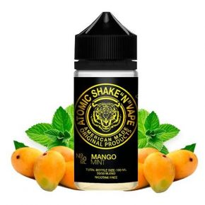 ATOMIC BY HALO MANGO MINT 0MG 50ML SHAKE & VAPE