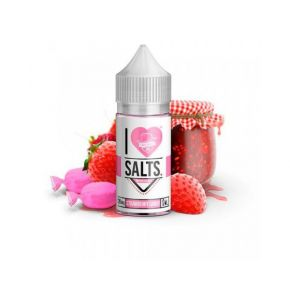 SALT STRAWBERRY CANDY 20MG 10ML | MAD HATTER I LOVE SALTS