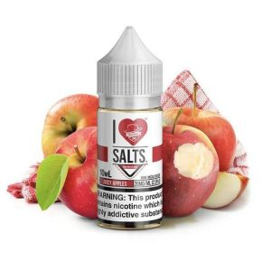 SALT JUICY APPLES 20MG 10ML | MAD HATTER I LOVE SALT
