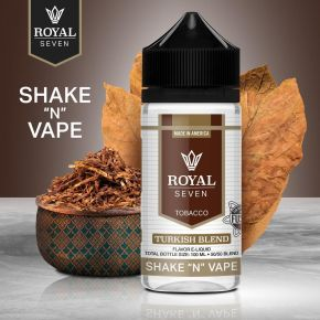 ROYAL SEVEN BY HALO TURKISH BLEND 0MG 50ML SHAKE & VAPE