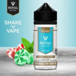 ROYAL SEVEN BY HALO ULTRA STRONG 0MG 50ML SHAKE & VAPE