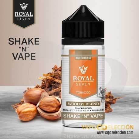 ROYAL SEVEN BY HALO WOODSY BLEND 0MG 50ML SHAKE & VAPE
