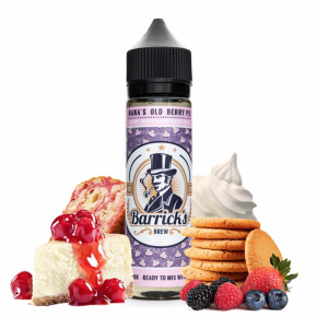BARRICK´S BREW NANA´S OLD BERRY PIE 0MG 50ML SHAKE & VAPE
