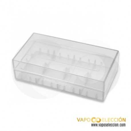 PLASTIC STORAGE CASE 18650 BATTERY