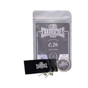 COILS SINGLE 0.26OHM | CHARROCOILS