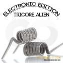 TRI CORE ALIEN 0.12OHM FULL NI80 ELECTRONIC EDITION BY CHARROCOILS
