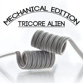 TRI CORE ALIEN 0.16OHM FULL NI80 MECHANICAL EDITION BY CHARROCOILS