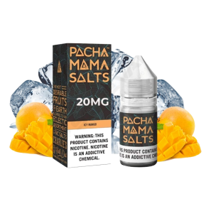 SALTS PACHAMAMA ICY MANGO 20MG 10ML TPD | CHARLIES DUST