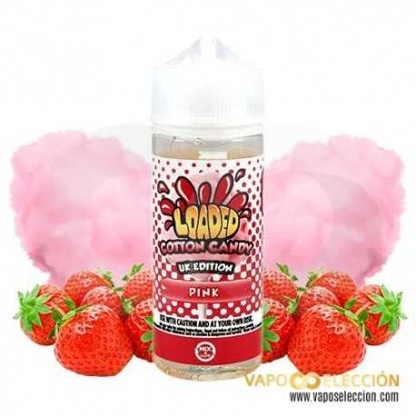 ELIQUID COTTON CANDY PINK 100ML | LOADED