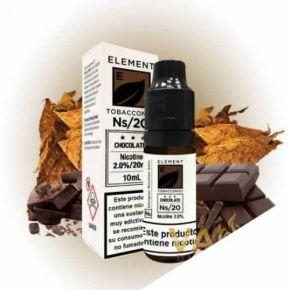 ELEMENT SAIS DE CHOCOLATE DA TABACARIA 20 MG 10 ML | ELEMENT ELIQUID