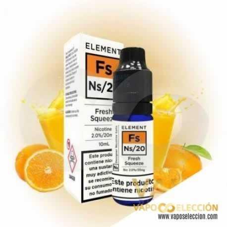 ELEMENT SALTS FRESH SQUEEZE 20 MG 10 ML | ELEMENT ELIQUID