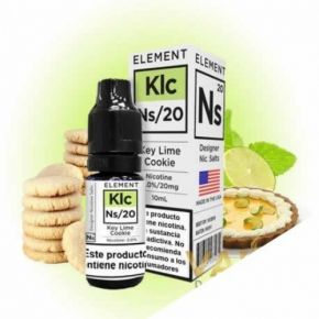 ELEMENT SALTS KEY LIME COOKIE 20 MG 10 ML | ELEMENT ELIQUID