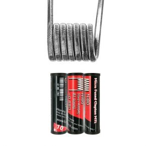 COIL MICRO FUSED CLAPTON MTL 10PCS | FUMYTECH