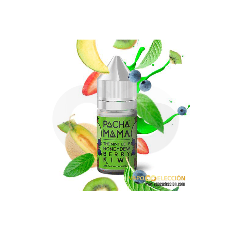 FLAVOUR PACHAMAMA THE MINT LEAF HONEYDEW BERRY KIWI 30ML | PACHAMAMA BY CHARLIES DUST