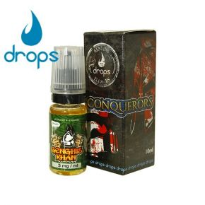 LIQUIDO GENGHIS KHAN 12MG 10ML | DROPS ELIQUID