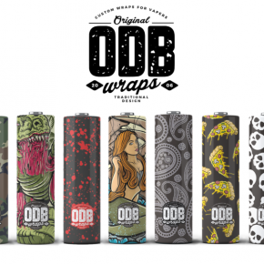 ODB 20700/21700 BATTERY WRAPS PACK 4 UDS | ODB