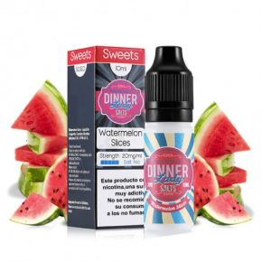 WATERMELON SLICES 20 MG SALT 10 ML | DINNER LADY