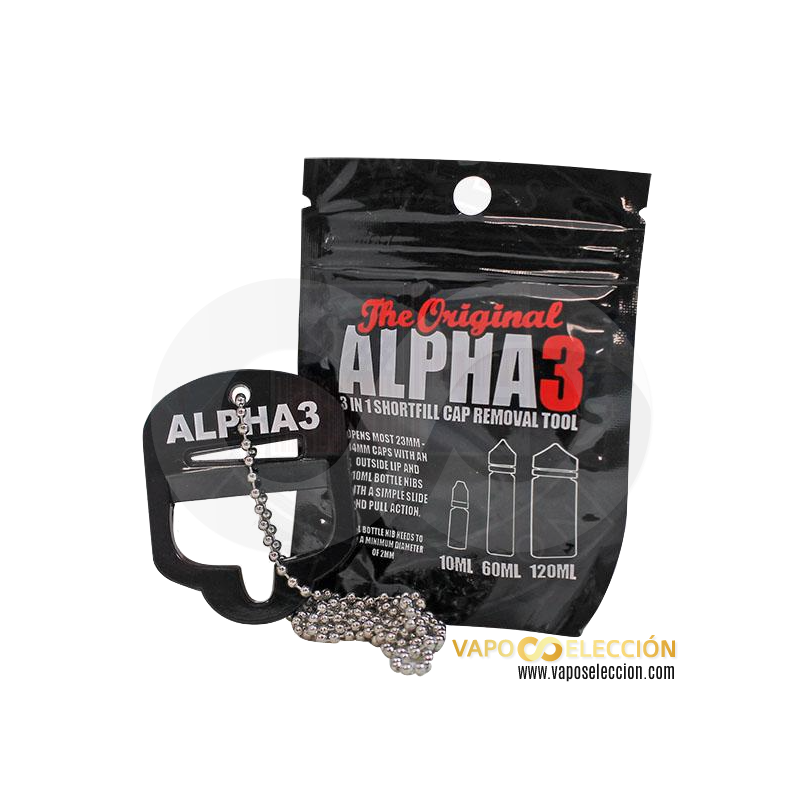 ALPHA 3 REMOVAL TOOL ELIQUID CAP | THE ALPHA 3