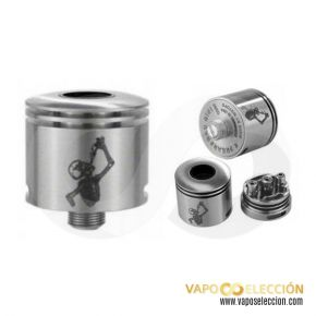 Mini Freak Show RDA Silver by Wotofo