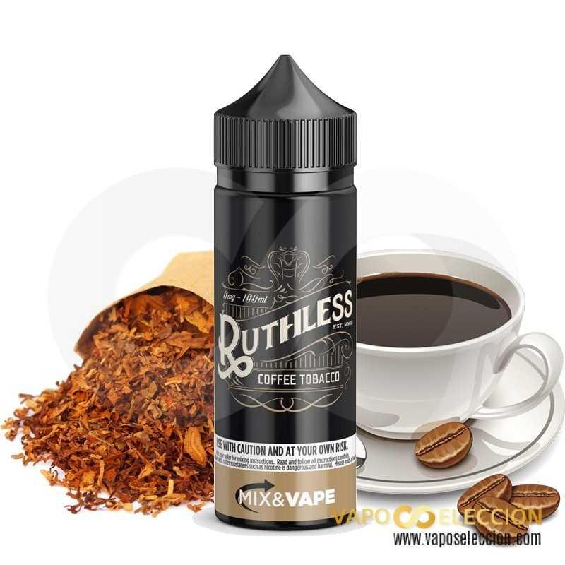 ELIQUID COFFEE TOBACCO 50ML | RUTHLESS