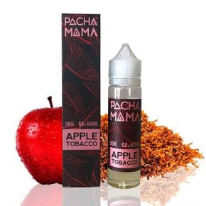 ELIQUID PACHAMAMA APPLE TOBACCO 50ML | CHARLIES DUST