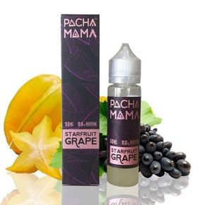 ELIQUID PACHAMAMA STARFRUIT GRAPE 50ML | CHARLIES DUST