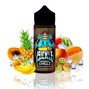 ELIQUID TROPICAL CHILLZ 100ML | ISICKLE ELIQUID