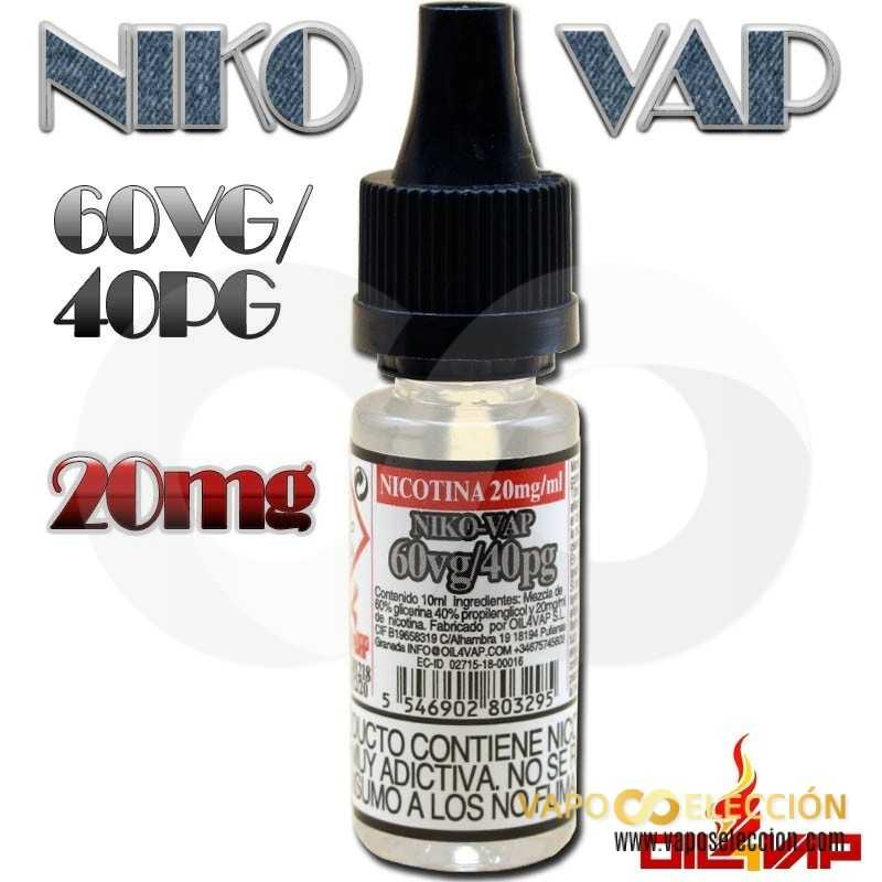 OIL4VAP NICO-VAP 20MG 50/50 10 ML