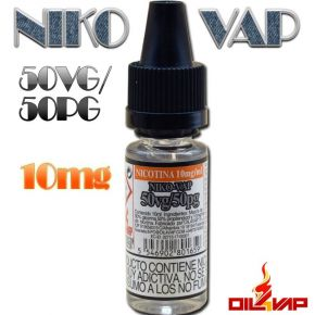 NIKO VAP 10MG 50/50 10ML | OIL4VAP