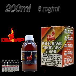 BASE OIL4VAP 6MG 50PG/50VG 200ML TPD