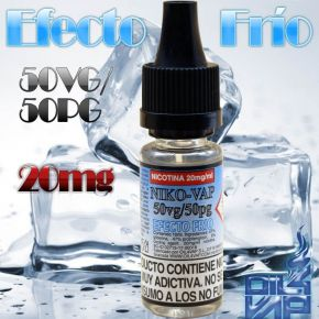 NIKO-VAP 20MG 50/50 10ML FRESH EFFECT 10ML | OIL4VAP