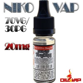 NIKO-VAP 20MG 30PG/70VG 10ML | OIL4VAP