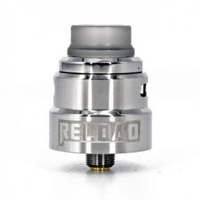 RELOAD S RDA 24MM SILVER | THE RELOAD VAPOR USA