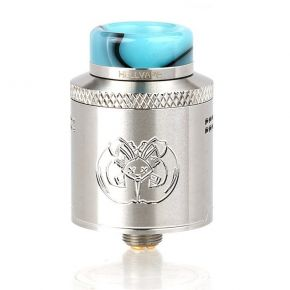 DROP DEAD RDA 24MM SILVER | HELLVAPE