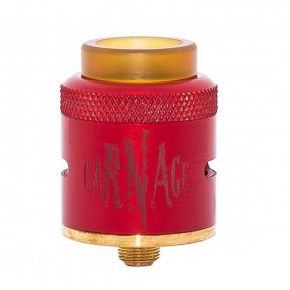 CARNAGE RDA 25MM RED | PURGE MODS