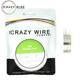 WIRE SS316L 0.08MM/40GA 10M | CRAZY WIRE