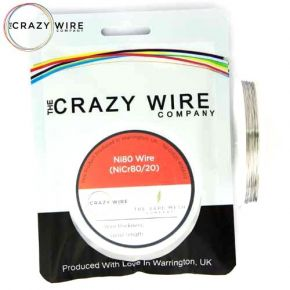 WIRE NI80 0.10MM/38GA 10M | CRAZY WIRE