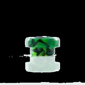 STUBBY DRIP TIP GREEN BLACK SWIRL | HMM